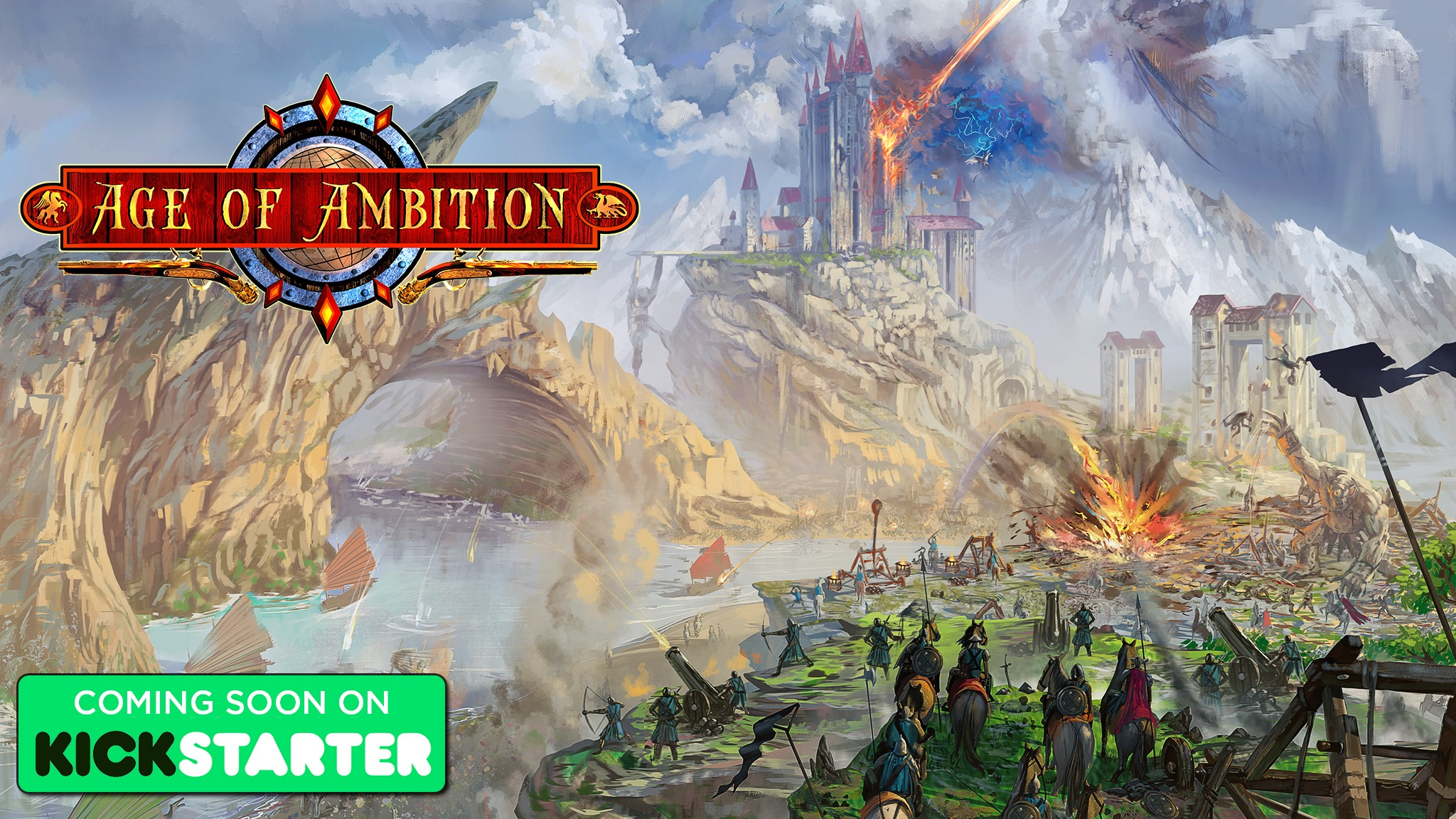 Age of Ambition: Coming to Kickstarter Tomorrow!