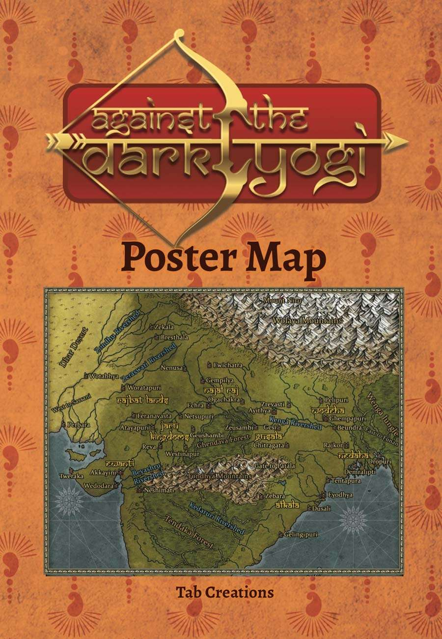 Against the Dark Yogi: Bhurloka Poster Map