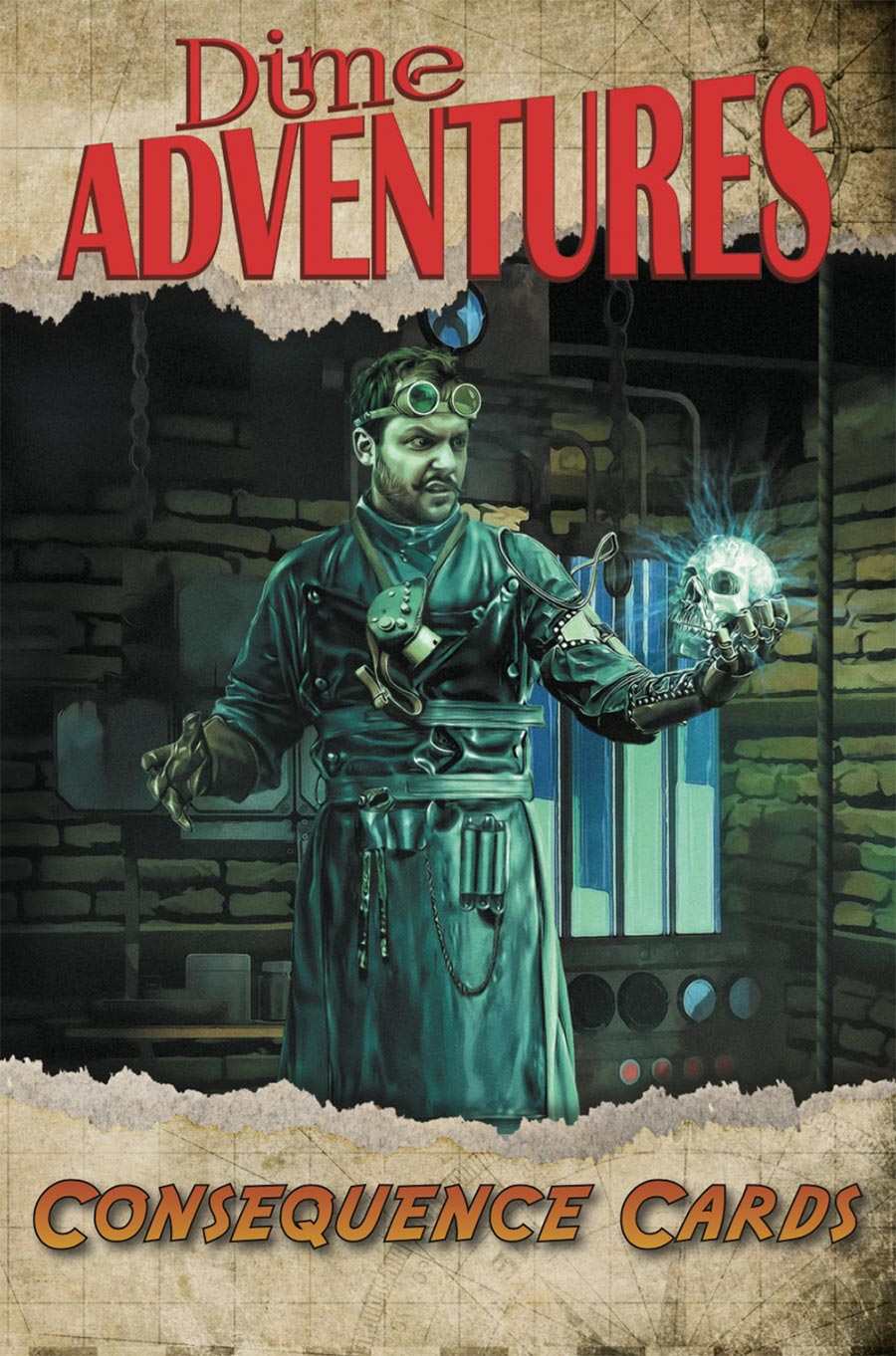 Dime Adventures: Consequence Cards